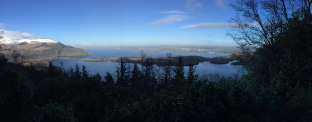 View from Cardiac Steps, Torc Mountain, Killarney National Park